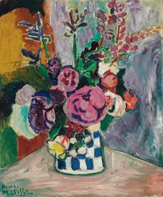 matisse | Henri Matisse's Les Pivoines made $19,122,500. (Click on image to ...
