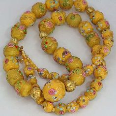 Antique Venetian Glass Trade Beads