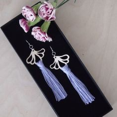 AURORA earrings are ostentatious, but extremely light statement earrings. A pair of earrings only weighs about 5 grams. Statement Earrings, Drop Earrings, Sustainable Fashion, Aurora, Summer Outfits, Jewelry, Jewlery, Summer Wear, Jewerly