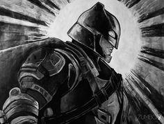 BATMAN Acrilico fan art