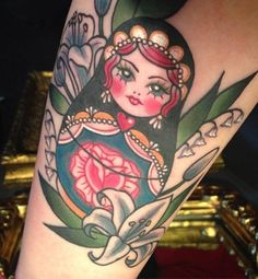 sisters russian doll tattoo - Google Search
