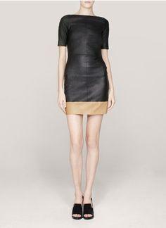 amazing leather dress!