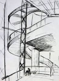 Image result for architecture drawing pointillism interior