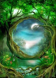 Image about art in Fantasy & Fairies by Morgana Moon Magical, Fairy, Art Prints, Fantasy, Moon Art, Fantasy Art, Painting, Art, Beautiful Art