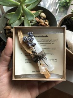 Original Inspired Restoration Bundles - Palo Santo, Selenite, Lavender with choice of Amethyst or Citrine Crystal Point Dried Lavender Flowers, Citrine Crystal, Amethyst, Crystal Grid, Smudge Sticks, Smudging, Wands, Diy Gifts, Herbalism