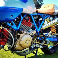 Ducati NCR New Blue Sport Classic - Doug Zeman #ducati #ncr #newblue #sportclassic #sport1000 #dougzeman #theottocycle