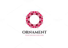 Ornament Logo by XpertgraphicD on @creativemarket