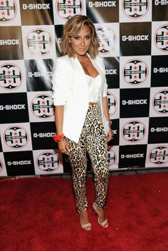 Adrienne Bailon - Celebs at the G-Shock Event in NYC