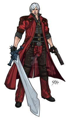 Dante de Devil May Cry 4
