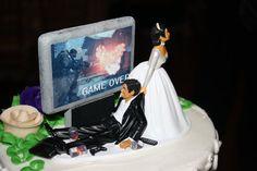 Det Bedste: Dagens bryllupskagefigur: Game Over