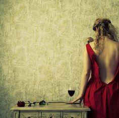 sides of seduction by liliana karadjova Wine Photography, Photography Women, Seduction Photography, Photography Styles, Fantasy Photography, Wine Red Dress, Red Wine, Hippy Chic, Boho Chic