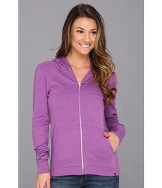 $22.99 ~ Hurley Solid Slim Fleece Zip Hoodie