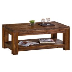 Found it at Wayfair.co.uk - Cedaredge Coffee Table with Magazine Rack