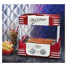Retro Series Hot Dog Roller Nostalgia Electrics