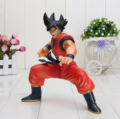 Dragon Ball Z Savage Son Goku Ready To Fight Collectible PVC Figure Toy 23cm #DragonBallZ #DBZ #Savage #Son #Goku #Ready #To #Fight #Collectible #PVC #Figure #Toy #23cm #Saiyanstuff