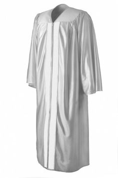 Matte Silver Graduation Gown from www.graduationsource.com ...