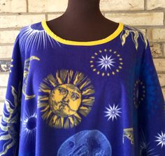Celestial Fleece Tunic by TexasStitchWitches on Etsy https://www.etsy.com/listing/250979214/celestial-fleece-tunic