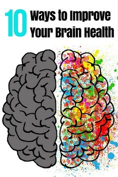 10 Ways to Improve Your Brain Health After 40 via @DIYActiveHQ #health #BrainHealth