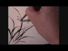 How to Paint Daylily in Traditional Chinese Painting Using Hake Brush - YouTube