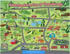 Related image Dc Travel, Travel And Leisure, Westmoreland County, Farm Layout, Farm Fun, Tourist Map, Mini Farm, Christmas Pillow, Family Adventure