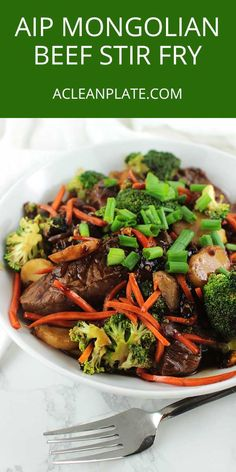Mongolian-Beef-Stir-Fry-Recipe stir fry recipes, scd recipes, b Scd Recipes, Stir Fry Recipes, Asian Recipes, Beef Recipes, Healthy Recipes, Healthy Meals, Mixed Vegetables, Healthy Vegetables, Mongolian Beef