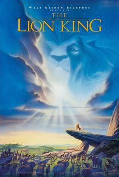 Lion King original theatre poster