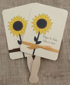 Sunflower Theme Party Favors by abbey and izzie designs on Etsy   #sunflowerfans, #sunflowers, #sunflowerfavors,