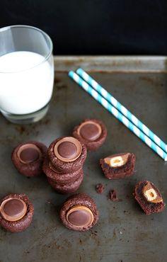 Toffifee Brownie Bites