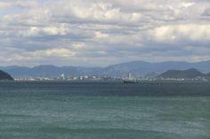 Takamatsu, vue depuis Naoshima