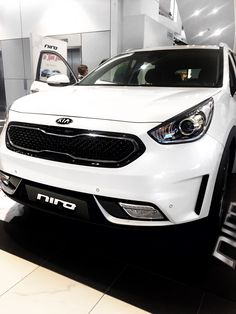the new niro from kia its pretty awesome check it out at pentagon city