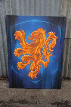 #graffiti #canvas by #dubiz #netherlands #fc #netherlandsfc #FC2017 #football #holland
