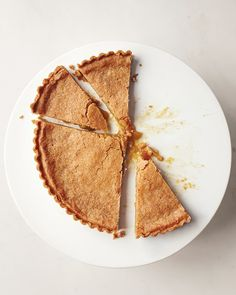 Chess Tart - Martha Stewart Recipes  I call this Sugar Pie -- it's like Pecan Pie without the pecans -- people fight over who gets seconds