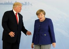 Trump visits Europe for G-20 summit on 2nd overseas tripOn the...  Trump visits Europe for G-20 summit on 2nd overseas trip  On the eve of his first meeting with Russian President Vladimir Putin President Donald Trump vowed Thursday to confront new forms of aggression targeting the West and called for Moscow to stop fomenting unrest around the world. Yet he pointedly stopped short of condemning Russia for meddling in the U.S. election.  Buoyed by an electrified crowd in Poland chanting his…
