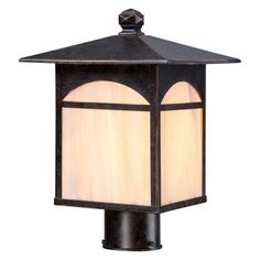 Nuvo Canyon Outdoor Post Light - 60/5655
