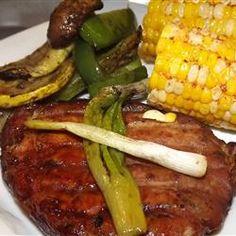 Mahogany Pork Chops Allrecipes.com. Delicious!