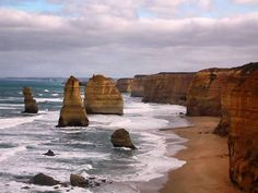 The 12 apostles in the Great Ocean Road. by catatraveldiaries http://ift.tt/1ijk11S