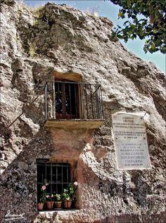 casa de piedra de Alcolea del Pinar (Guadalajara) España