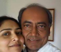 Digvijay Singh And Amrita Rai In SelfieWithDaughter