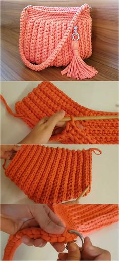 Crochet T-shirt Purse