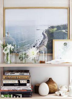 Large travel photo displayed
