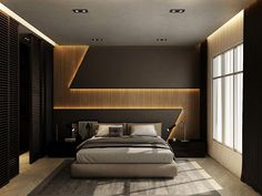 32 Fabulous Modern Minimalist Bedroom You Have To See - Everywhere you look you find things are being updated. The best way to start modernizing in your life is to have a modern bedroom. Bedroom False Ceiling Design, Bedroom Wall Designs, Wardrobe Design Bedroom, Luxury Bedroom Design, Bedroom Furniture Design, Master Bedroom Design, Bedroom Decor, Bed Designs, Modern Wardrobe