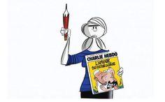 Las simbólicas reacciones de dibujantes del mundo tras ataque a Charlie Hebdo