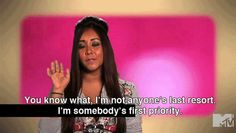 snooki.<3 she's a silly little girl but sometimes she makes sense.