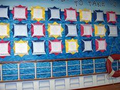 Sailing Through 1st Grade: August 2011