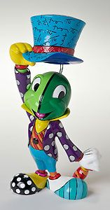 Pinocchio - Jiminy Cricket - Britto - Romero Britto - World-Wide-Art.com - $60.00