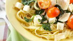 Välimeren feta-pinaattipasta - K-ruoka