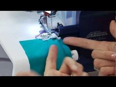 life changing.   How To Create a Blind Hem Using Your Serger with Angela Wolf