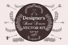 Designer's Hand Drawn Vector Kit - Objects - 1