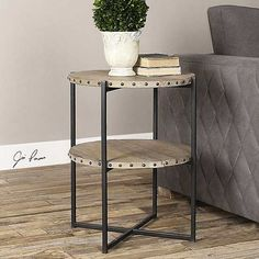 Pack a whole lot of style and organization into your living room with new end tables! These inexpensive picks range from rustic and vintage to modern and contemporary. Simply add one of the end tables to your current living room decor to transform the room on the cheap.