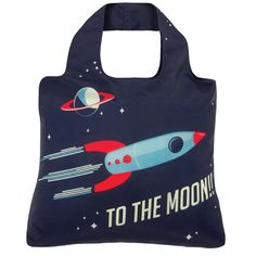 Envirosax To The Moon eco tote bag